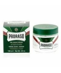 Proraso crème verte de pré-rasage menthe & eucalyptus 100 g