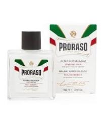 Proraso baume blanc après-rasage peau sensible thé vert & avoine 100 ml