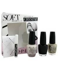 Vernis à ongles OPI the look of crystal - soft shades trio 3 x 15 ml